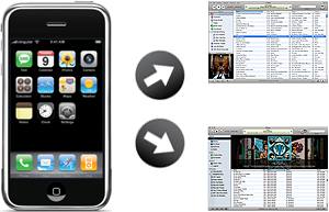 Syncing iPhone with multiple iTunes